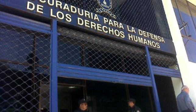 Roban computadoras con información confidencial de la Procuraduría de los Derechos Humanos
