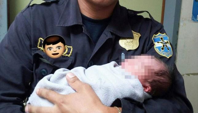 Agentes de la PNC en Sonsonate atendieron parto dentro de una patrulla