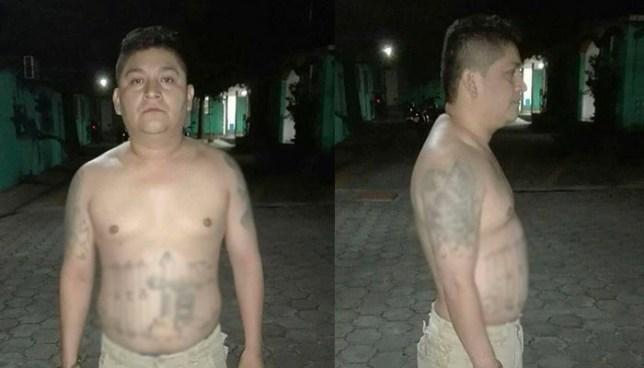 Peligroso palabrero intentó huir casi desnudo luego de ser sorprendido por la PNC