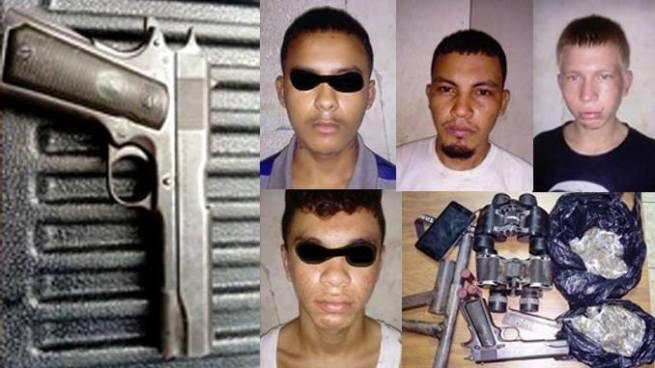 Pandilleros en San Miguel utilizaban binoculares para evitar ser capturados por la policía