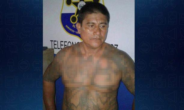 """Capturan al """"Indio"""", palabrero de pandillas que operaba en La Libertad"""