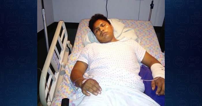 Pandillero prófugo por homicidio es encontrado siendo atendido en un hospital privado