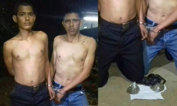 Capturan en Sonsonate a pandilleros acusados de distribuir drogas