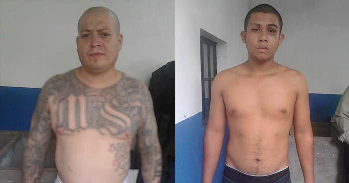 Arrestan a dos pandilleros, miembros de agrupación para cometer ilícitos en Ahuachapán