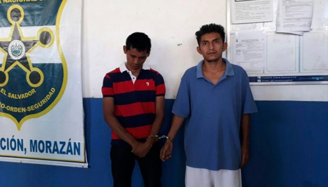 Pandilleros reclamados por varios delitos son capturados en Morazán