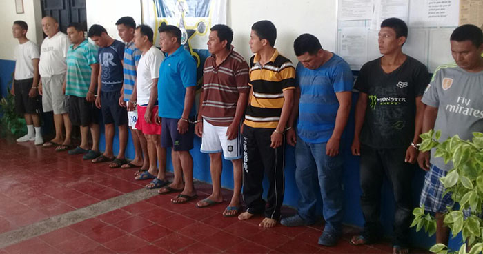 Ordenan la captura de más de una treintena miembros de una pandilla que opera en Morazán
