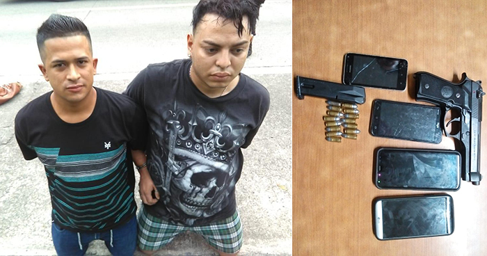 Capturan en La Paz a pandilleros por portación de arma de fuego y agrupaciones ilícitas