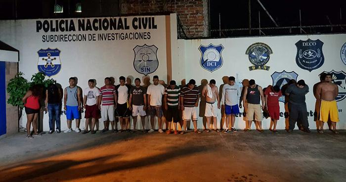 PNC desarticula banda de extorsionistas que operaban en San Salvador