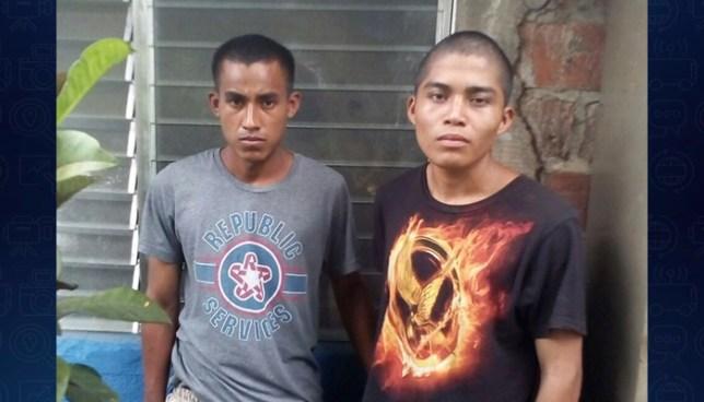 Policía atrapa por tráfico de droga a dos sujetos en Sonsonate