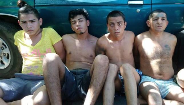 PNC captura en Usulután al tesorero de una pandilla y cinco pandilleros más