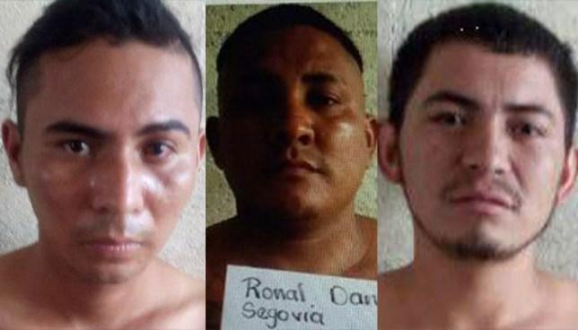 Detienen por diversos delitos a tres peligrosos pandilleros en Usulután