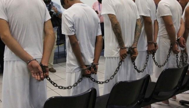 Condenan a 18 años de cárcel a siete pandilleros por el delito de extorsión