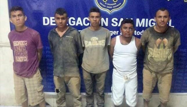 San Miguel: Capturan a pandilleros con drogas y armas de grueso calibre