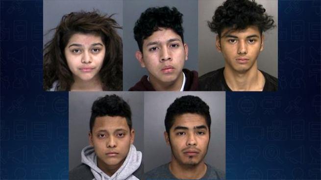 Capturan a pandilleros salvadoreños cuando pretendían asesinar a un joven en EE.UU