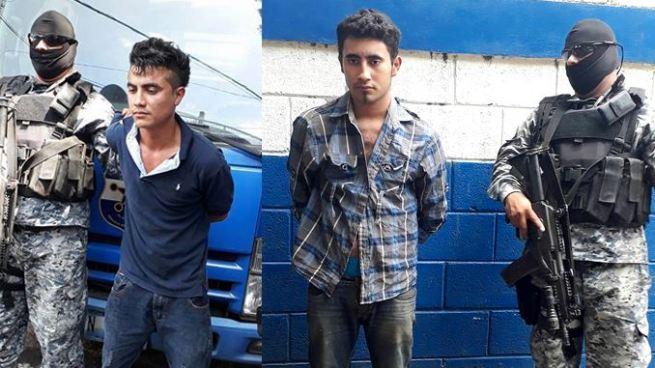 Detienen en Sonsonate dos pandilleros acusados de atacar a policías