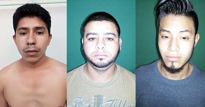 Capturan en comunidad de Santa Tecla a pandilleros acusados de cometer diversos delitos