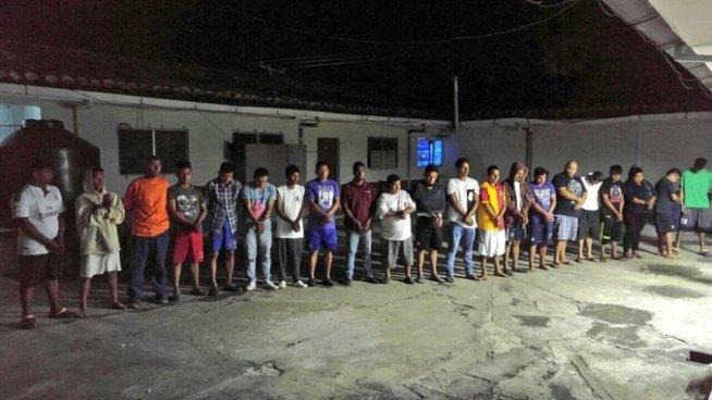 52 pandilleros son capturados tras un fuerte operativo en La Paz, San Vicente y San Salvador