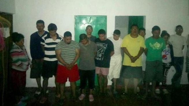 Operativo deja más de 50 pandilleros capturados en La Libertad