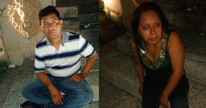 Detienen en San Salvador a pareja en estado de ebriedad que puso en riesgo a sus hijos