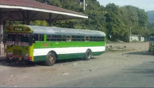 Ruta de buses 116 mantiene paro de labores por amenazas de pandillas