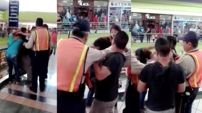 VIRAL   Video muestra a 2 mujeres peleando en un centro comercial de Soyapango