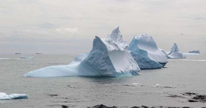 Nivel del mar se eleva a causa de la perdida de hielo en la Antártida