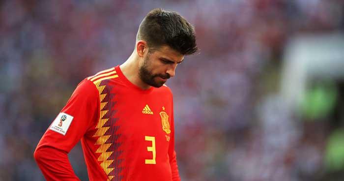 Gerard Piqué anuncia que no volverá a jugar con la selección de España