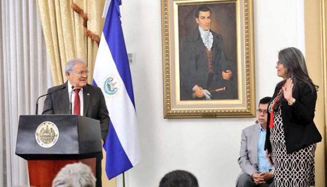 Presidente Sánchez Cerén oficializa el nuevo Ministerio de Cultura
