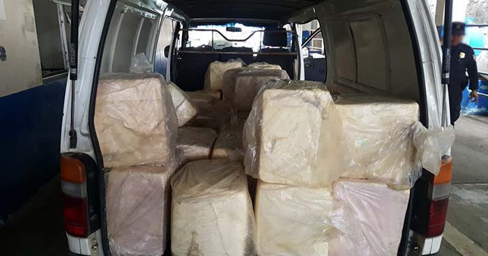 Policía sorprende a contrabandistas que intentaba introducir queso al país