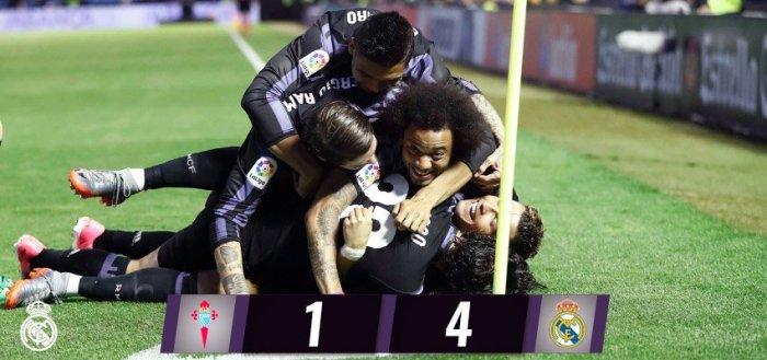 Real Madrid recupera el liderato y esta a un punto de coronarse Campeón de la Liga