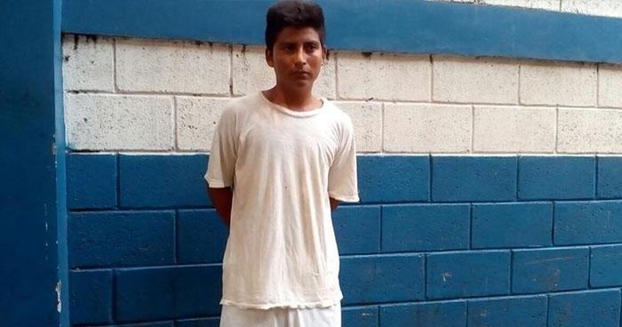 Capturan a pandillero que violó a una estudiante en San Antonio del Monte, Sonsonate