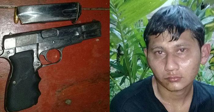 "Capturan al ""Niño Rata"", pandillero que atentó contra agentes de la PNC en Izalco"