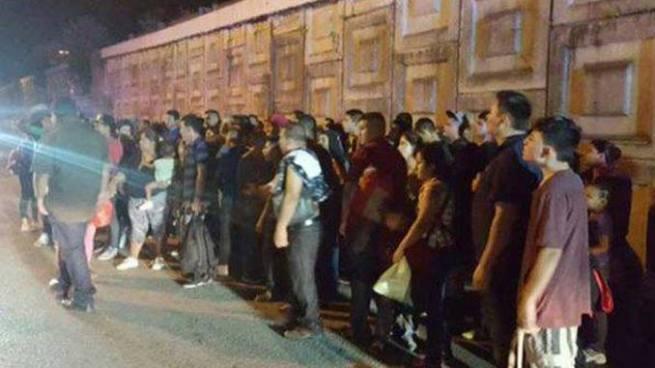 Rescatan a 133 migrantes centroamericanos en México, entre ellos varios salvadoreños