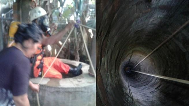 Rescatan a hombre que se intoxicó dentro de un pozo en Zacatecoluca, La Paz