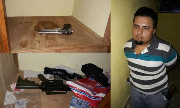 Policía captura en San Miguel a peligroso corredor de la MS