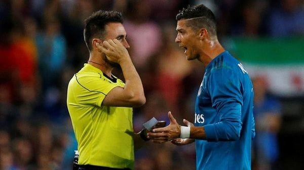 """Cristiano Ronaldo sobre su sanción: """"Esto se llama persecución"""""""