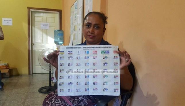Mujer denuncia aparecer como candidata a diputada de un partido político que no sabía que existía