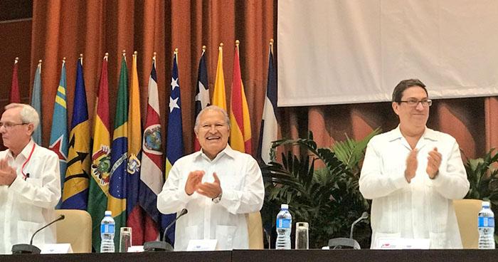 Presiente Sánchez Cerén expresa su respaldo al gobierno de Daniel Ortega
