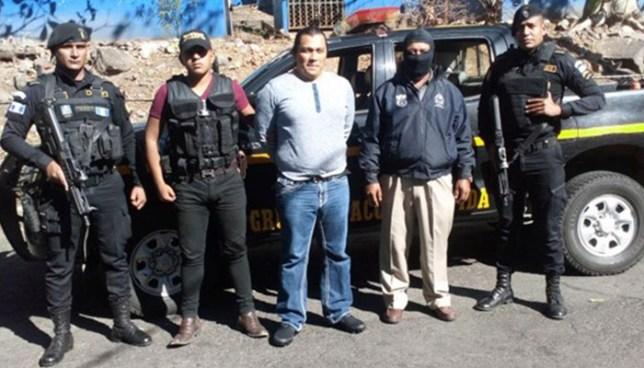 INTERPOL de Guatemala captura a salvadoreño que lideraba una red de narcotráfico