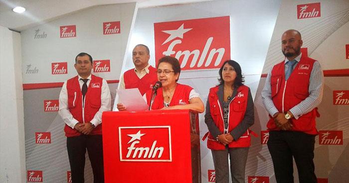 FMLN convoca a afiliados este próximo domingo para elegir a su candidato presidencial
