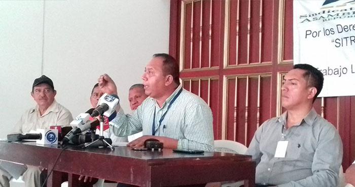 Sindicato de la Asamblea Legislativa se pronuncia en contra despidos