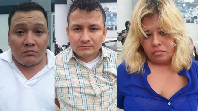 Capturan a sospechosos de asaltar a usuarios de bancos en San Salvador