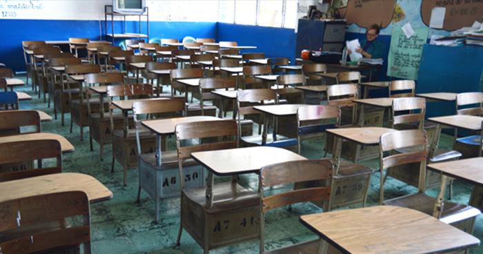 Extienden suspensión de clases hasta el Miércoles por lluvias