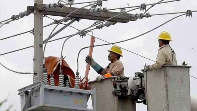Servicio de energía eléctrica sera suspendido para cuatro departamentos este próximo domingo