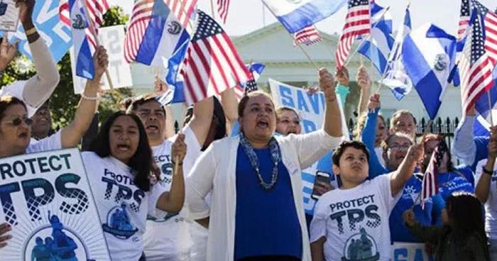 Salvadoreños amparados al TPS no quieren regresar al país