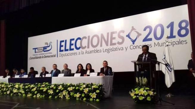 Tribunal Supremo Electoral llama a elecciones municipales y legislativas de 2018