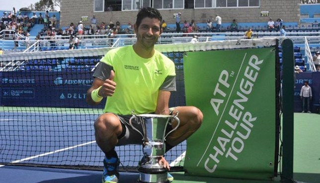 Tenista salvadoreño Marcelo Arévalo se corona campeón del abierto de Jalisco
