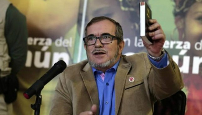 La FARC se retira de contienda presidencial por estado de salud de Timochenko