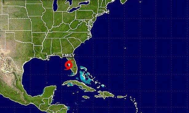 Estado de emergencia en Florida por tormenta tropical Emily