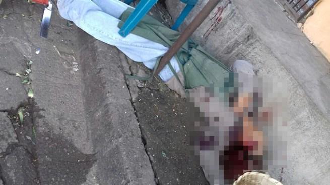 Pandilleros matan a vendedor de plátanos en el mercado de Santa Ana